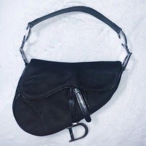 100% AUTHENTIC Christian Dior Nylon Saddle Bag